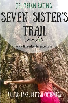 Seven Sisters Trail in Cultus Lake British Columbia. Accessed through Entrance Bay Campground or Clear Creek Campground. Enjoy Hiking and Camping! Vancouver Hiking, Places To Travel, Places To Go, Vancouver British Columbia, West Coast Trail, Fraser Valley, Hiking With Kids, True North, Road Trips