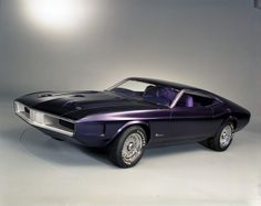 This purple beauty made its debut at the 1970 Chicago Auto Show. Its nearly horizontal rear deck and elongated nose made their way onto the 1971 production model, but otherwise mostly remained a showcar.