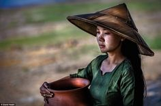 The photographer said he first visited Burma six years ago, with many of the villages remaining isolated from the rest of the world