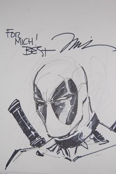 Deadpool by Jim Lee *