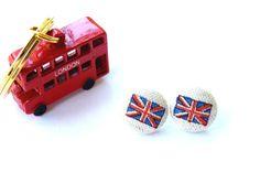 Jubilee Union Jack Earrings by bellajean