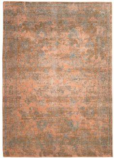 Vintage Teppich Orientteppich Orange Blau Krefeld