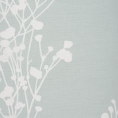 Luxury faux linen sheer with a wild flower silhouette pattern in a natural duck egg blue Hydrangea, Curtains Direct, Clocks Back, Flower Silhouette, Hills And Valleys, Voile Curtains, Duck Egg Blue, Natural Texture, Summertime