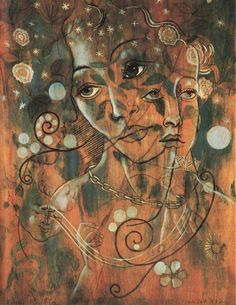 My favorite by Francis Picabia, Lunaris oil on plywood, 1928