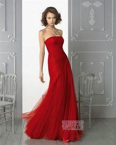 Купить красное платье вечернее