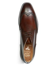 Peal & Co.® Leather Wingtip Boots http://www.facebook.com/DressShoesandSneaker