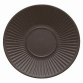 Found it at Wayfair - Flamestone Brown Saucer would order 12 plates