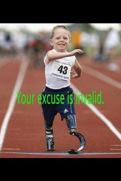 """""""Your excuse is invalid."""""""
