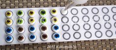 Search results for royal icing eyes Royal Icing Templates, Royal Icing Transfers, How To Make Icing, How To Make Cookies, Cake Decorating Tips, Cookie Decorating, Buttercream Fondant, Royal Frosting, Candy Eyeballs