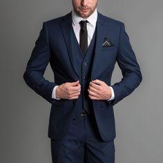 Classic Navy 3 Piece suit