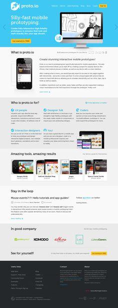 Proto.io — Mobile app | www.proto.io