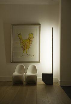 """Dutch design only.  """"TUIMELAAR"""" TUMBLER Lamp by famous Dutch designer Aldo van den Nieuwelaar- Lighting - Collection - things design/.  Made in Holland."""