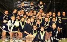 Fotos von den 17. Hamburger Cheerleading Meisterschaften am 06.02.10 in Hamburg