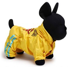 Petcircle Dog Raincoat Clothing Yellow High Quality New Fashion Waterproof Breathable pets clothes => Additional details found at the image link  : Dog coats