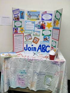www.projectcornerstone.org  Recruiting table for ABC volunteers.
