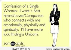 CONFESSION OF A SINGLE WOMAN ... - http://www.razmtaz.com/confession-of-a-single-woman/