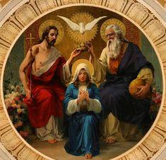 Santa María la madre de la nueva Evangelización; ruega Señora, por los que sufren, por los que esperan en tu bondad.