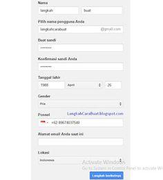 Berikut ini adalah tutorial cara membuat akun email baru yang menggunakan layanan produk google, yang dikenal dengan sebutan Gmail [Google Mail]. Gmail ini adalah layanan email terbesar dan paling banyak penggunanya dari seluruh dunia dibandingkan dengan layanan email lainnya. Pc Hp, Bar Chart, Google, Dan, Laptop, Laptops, The Notebook