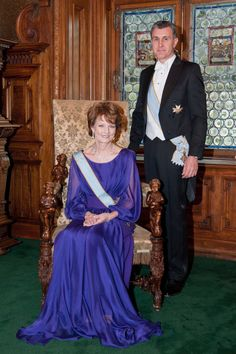 Crown Princess Margareta & Prince Radu of Romania, Peleș Castle, 26 march 2014 Peles Castle, Imperial Russia, First Daughter, Blue Bloods, The Crown, 26 March, March 2014, The Past, King