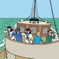 A l'occasion de la sortie du hors-série Ouest-France et Historia Tintin et la mer, l'association LES 7 SOLEILS propose une soirée sur ce thème le vendredi 7 novembre. Initialement fixée au 24 octobre cette soirée a dû être reportée en raison de l'indisponibilité de la salle pour cause de travaux. Au programme deux interventions illustrées : les rôles de la mer dans les aventures de Tintin, d'une part, et Hergé et les bateaux, d'autre part.