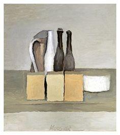 Giorgio Morandi - Natura Morta, 1956