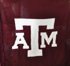 Texas A&M Crochet Afghan pattern - Etsy $7.00