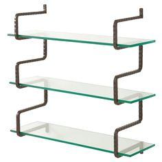 Wally Wall Mount Shelves// love that design