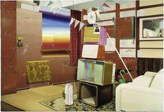 Fernsehturm, Öl auf Leinwand, 200 x 290 cm, 2004