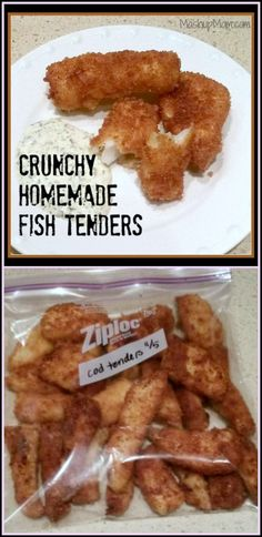 recipe: homemade fish sticks to freeze [23]