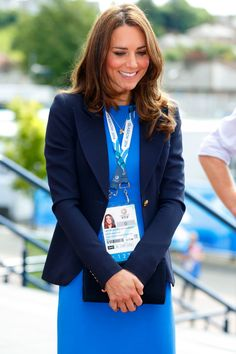 Kate Middleton has the best wardrobe, and best smile.