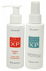 From Triaxon, this duo of products was designed for anyone who colour treats, perms or chemically processes their hair or those who are concerned with age related thinning and want to support their...