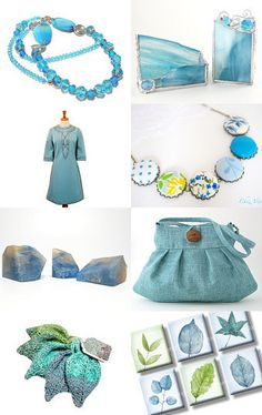 Pretty In Blue! by Heather on Etsy--Pinned with TreasuryPin.com