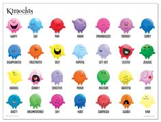 Kimochis - Toys with Feelings Inside. Great for play therapy