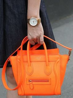 orange celine bag - I COULD GO TO BED OR I COULD CRY OVER THIS PURSE OMG