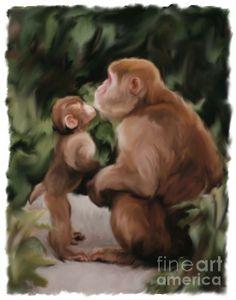 Unconditional Love Digital Art by Susan Lipschutz - Unconditional Love Fine Art Prints and Posters for Sale