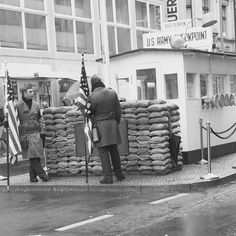 Checkpoint Charlie #coldwar #berlinwall #USA by annie.jones.pitt