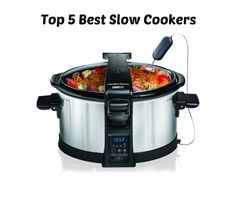 Between the ease of preparing a meal and the all-day smell of comfort food, I highly recommend a quality slow cooker for your kitchen. Whether you are looking to purchase your first slow cooker or upgrade to a newer model, these five are excellent and as droolworthy as the food in them... see more at InventorSpot.com