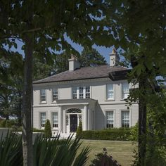 Classical Inspired Homes — Paul McAlister Sustainable and Passive House Architects - Portadown, Belfast, Northern Ireland Armagh, Irish Landscape, Passive House, Georgian Homes, Castle House, Architect House, Park Homes, Inspired Homes, Belfast