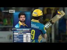 Ahmad Shahzad HUGE Six in CPL T20 2016