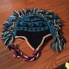 Mohawk hat Cute winter Mohawk hat Accessories Hats