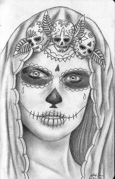 sugar skull http://24.media.tumblr.com/tumblr_m1tk4ijTPv1robtqzo1_500.jpg