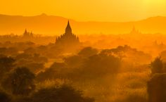 Photo by Zay Yar Lin Us Travel, Places To Travel, Sun Worship, Monthly Photos, Photo Competition, Bagan, Green Landscape, Pictures Of You, Beautiful World