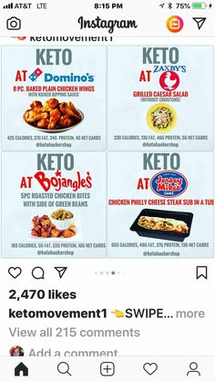 Keto grocery list, food and recipes for a keto diet before and after. Meal plans with low carbs, keto meal prep for healthy living and weight loss. Healthy Fast Food Options, Best Healthy Diet, Best Diet Foods, Fast Healthy Meals, Best Keto Diet, Fat Foods, Healthy Diet Recipes, Low Carb Diet, Keto Recipes
