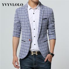 Blazer Suit | $ 54.94 | Item is FREE Shipping Worldwide! | Damialeon | Check out our website www.damialeon.com for the latest SS17 collections at the lowest prices than the high street | FREE Shipping Worldwide for all items! | Get it here http://www.damialeon.com/yvyvloloplaid-blazer-men-costume-homme-coat-blazer-masculino-brand-clothing-2016-fashion-men-blazer-dress-suit-jacket-jaqueta/ |      #damialeon #latest #trending #fashion #instadaily #dress #sunglasses #blouse #pants #boot…