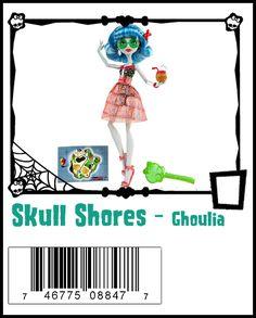 Ghoulia Yelps Frankenstein's Monster, Monster High Dolls, Monster High Ghoulia, Monster High School, Monster High Characters, Famous Monsters, Ever After High, Fashion Dolls, Skull