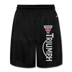 JUN J Motorcycles Logo Short Sweatpants Workout Pants For Men's Black Size L *** Read more  at the image link.