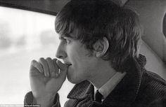 George Harrison, New York, photograph by Ringo Starr, February 1964