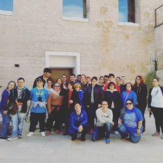 Hoy recibimos en el castillo unos grandes aventureros y aventureras. Gracias Asprona Castellón! #turismoaccesible #turismo #tourism4all #WTD2016 #visitaguida #ribaroja