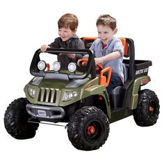 Fisher-Price Power Wheels Arctic Cat 1000 - Green