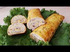 RULADĂ DE CAŞCAVAL CU PUI | Reghina Cebotari - YouTube Fresh Rolls, Sausage, Party, Appetizers, Meat, Ethnic Recipes, Youtube, Food, Home